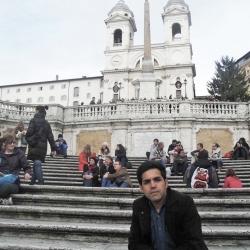 دوران تحصیل در ایتالیا